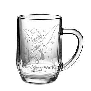 Personalizable Glass Tinker Bell Mug by Arribas