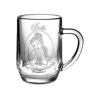 Personalizable Glass Belle Mug by Arribas