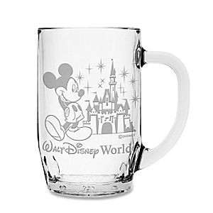 Personalizable Walt Disney World Castle Mickey Mouse Mug by Aribas