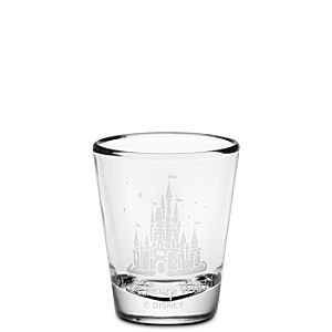 Personalizable Walt Disney World Castle Mini Glass by Arribas