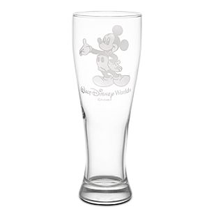 Personalizable Mickey Mouse Pilsner Glass by Arribas