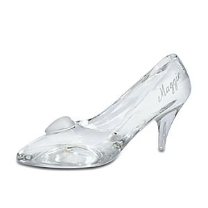 Personalizable Large Cinderella Glass Slipper by Arribas