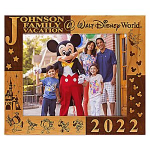 "Walt Disney World 2013 Frame by Arribas - 8"" x 10"" - Personalizable"