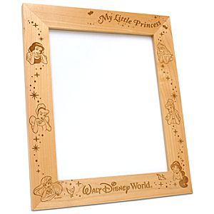 Personalizable Disney Princess Frame by Arribas -- 8 x 10