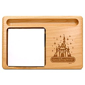 Personalizable Walt Disney World Cinderella Castle Memo Holder by Arribas