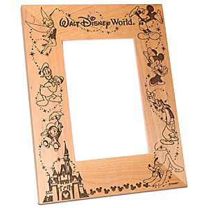 Personalizable Walt Disney World Cinderella Castle Photo Frame by Arribas -- 4 x 6