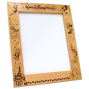 Personalizable Walt Disney World Frame by Arribas -- 8 x 10
