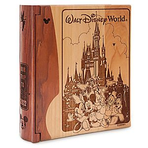 Personalizable Walt Disney World Castle Photo Album by Arribas