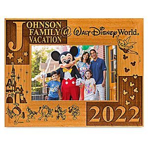 "Walt Disney World 2013 Frame by Arribas - 4"" x 6"" - Personalizable"