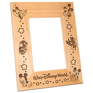 Personalizable Walt Disney World Baby Mickey Mouse Photo Frame by Arribas -- 4 x 6
