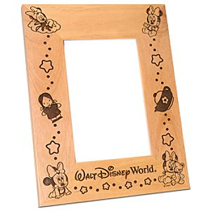 Personalizable Walt Disney World Baby Minnie Mouse Photo Frame by Arribas -- 4 x 6
