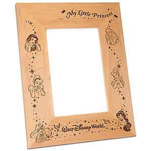 Personalizable Walt Disney World Disney Princess Photo Frame by Arribas -- 4 x 6