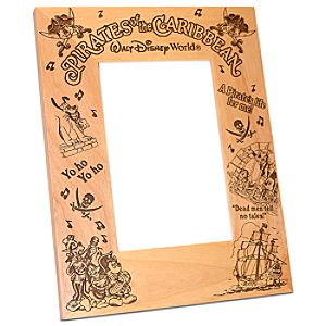 Personalizable Walt Disney World Pirates of the Caribbean Mickey Mouse Photo Frame by Arribas -- 4 x 6