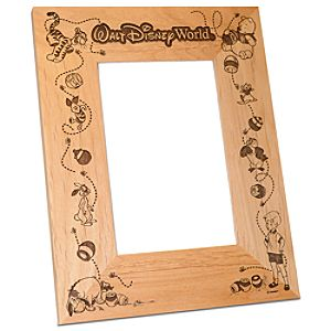 Personalizable Walt Disney World Winnie the Pooh Photo Frame by Arribas -- 4 x 6