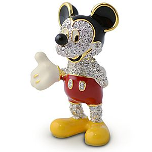 Jeweled Mickey Mouse Figurine by Arribas