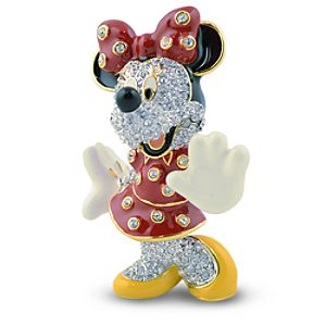 Jeweled Minnie Mouse Figurine by Arribas