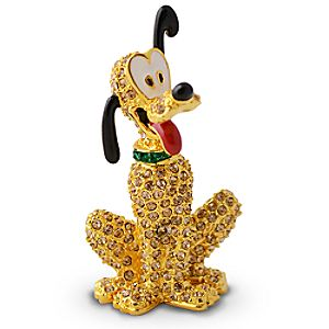Jeweled Pluto Figurine by Arribas