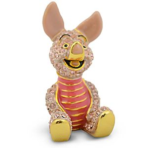 Limited Edition Jeweled Piglet Figurine by Arribas