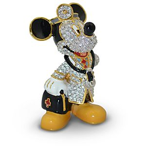 Jeweled Doctor Mickey Mouse Figurine by Arribas