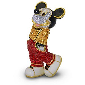 Jeweled Cool Mickey Mouse Figurine by Arribas