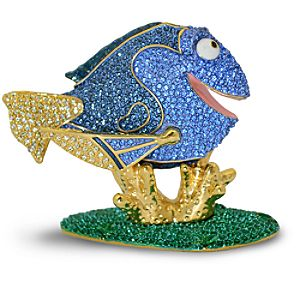 Jeweled Finding Nemo Figurine by Arribas -- Dory