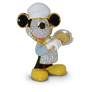 Jeweled Chef Mickey Mouse Figurine by Arribas