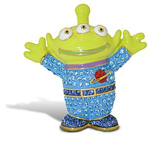 Jeweled Toy Story Alien Figurine by Arribas -- Version 1