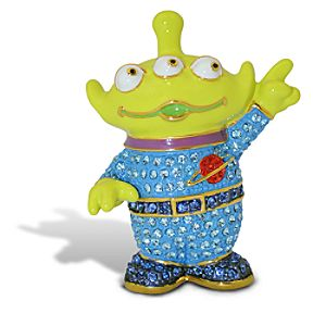 Jeweled Toy Story Alien Figurine by Arribas -- Version 2