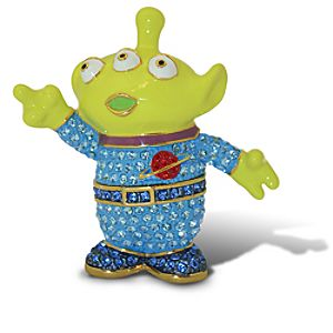 Jeweled Toy Story Alien Figurine by Arribas -- Version 3