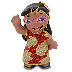 Jeweled Lilo Figurine by Arribas