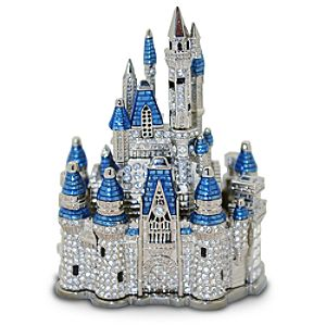 Jeweled Walt Disney World Cinderella Castle by Arribas Brothers -- 2 1/2 H