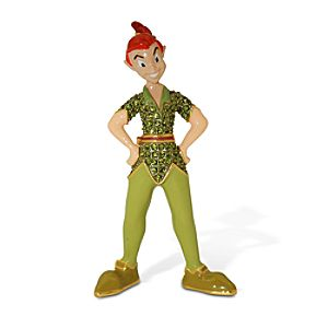 Jeweled Peter Pan Figurine by Arribas Brothers