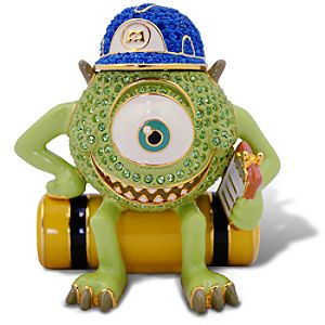 Limited Edition Jeweled Monsters, Inc. Figurine by Arribas -- Mike Wazowski