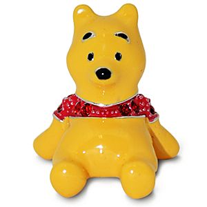 Jeweled Mini Winnie the Pooh Figurine by Arribas