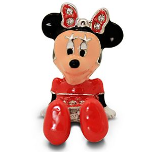 Jeweled Mini Minnie Mouse Figurine by Arribas