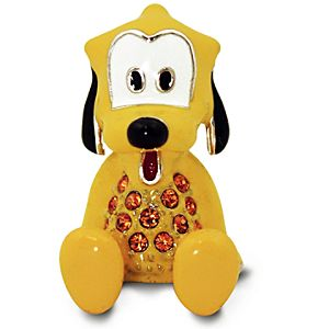 Jeweled Mini Pluto Figurine by Arribas