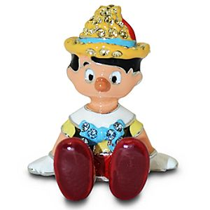Jeweled Mini Pinocchio Figurine by Arribas