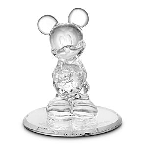 Mickey Mouse Glass Figurine by Arribas Brothers
