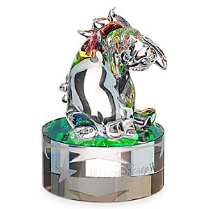 Eeyore Figurine on Base by Arribas - Walt Disney World