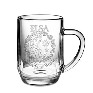 Elsa Glass Mug by Arribas - Personalizable