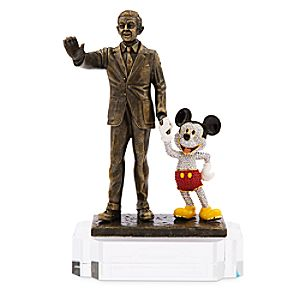 Walt Disney and Mickey Mouse Partners Figure by Arribas Brothers - Limited Edition