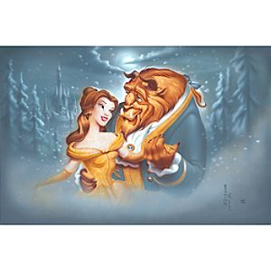 """Evening Waltz"" Beauty and the Beast Giclée by Noah"