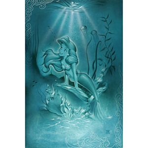 "Little Mermaid"" Giclée by Noah"