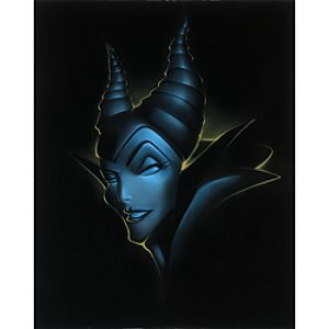 "Villain Maleficent"" Giclée by Noah"