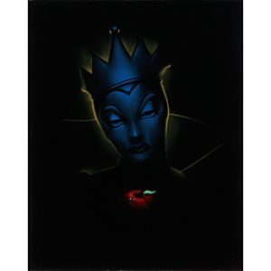 Villain Evil Queen Giclée by Noah