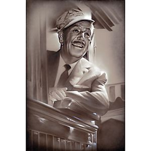 Walt in Train Giclée by Noah