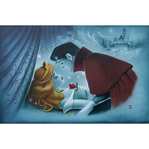 """Awaking the Beauty"" Sleeping Beauty Giclée by Noah"