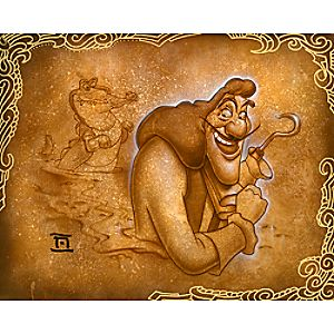 Captain Hook Never Smile Giclée by Noah