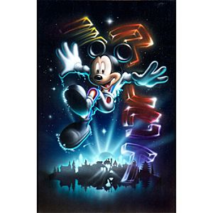 Mickey Mouse The 21st Century Begins Giclée by Noah