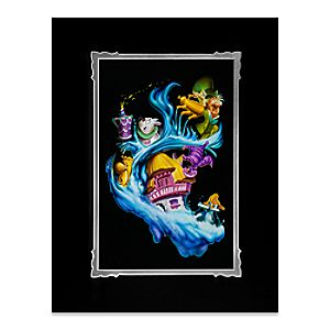 Alice in Wonderland Madness Into Wonder Deluxe Print by Noah